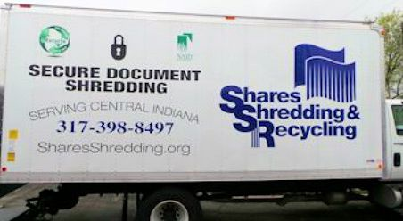 Truck that does our Shredding